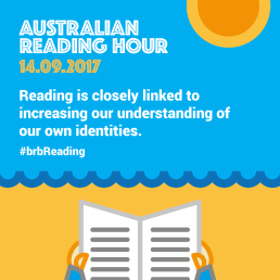 Reading is closely linked to increasing our understanding of our own identities.